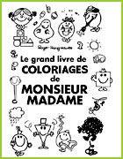grnad livre coloriage monsieur madame