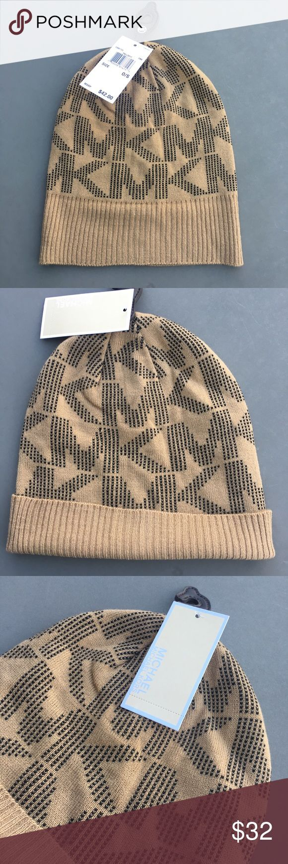 Authentic Michael Kors beanie Winter Hat NWT Selling an authentic Michael Kors beanie Winter Hat. Great gift or Christmas present idea. New with tags! Bundle other items in my closet to save! No trades MICHAEL Michael Kors Accessories