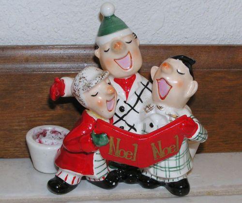 Vintage Christmas Decorations Mouse Carolers Set Jasco: 1904 Best Images About Vintage Christmas On Pinterest