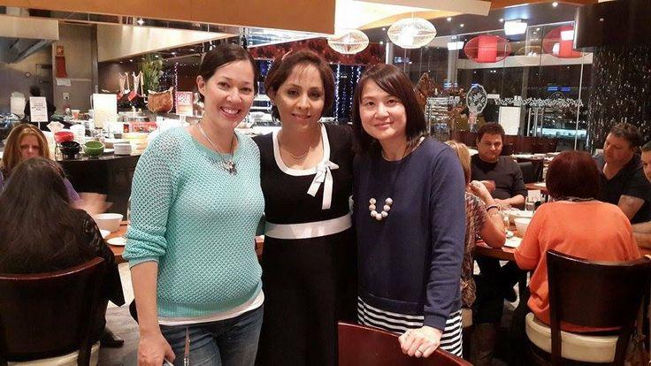 Woman power!! Nat, Shadab and Ling Ming