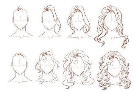 como aprender a dibujar cabello ondulado