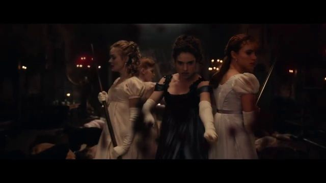 Visit nameofthesong for (parts of) the music of: Pride and Prejudice and Zombies (2016) - Trailer