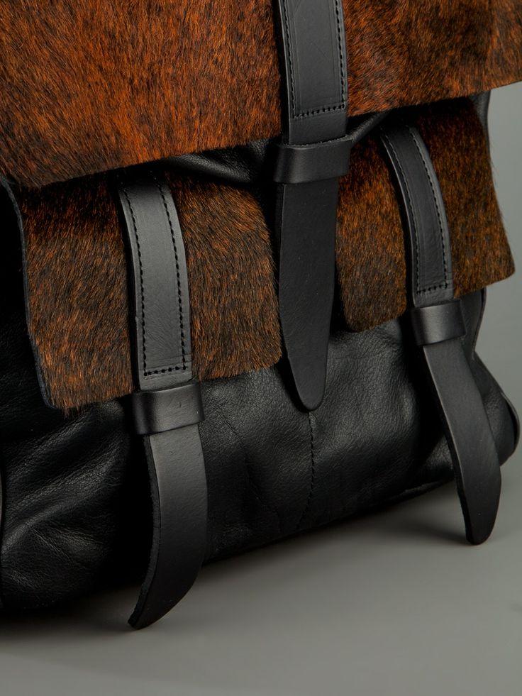 pony fur backpack