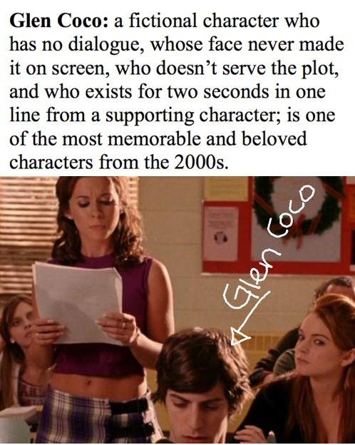 You go, Glen Coco!