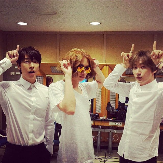 Donghae, Heechul, Eunhyuk