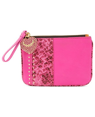 Juicy Couture Handbag, Snake & Stud Small Leather Coin Purse - Wallets & Wristlets - Handbags & Accessories - Macy's