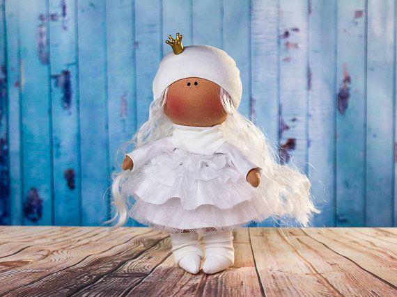 Doll Melan. Tilda doll. Textile doll. Handmade. Lovely by OwlsUa