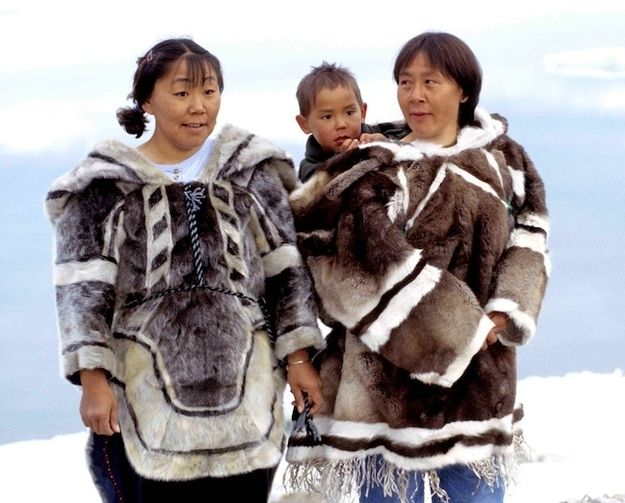 Canada's Inuits are among the oldest-known peoples, being traced back as many as 20,000 years ago. Not only this, but they have survived all those years in one of the harshest environments in the world: the northernmost reaches of Canada, with long daylight hours with moderate temperatures in the summer, to winters of near-constant darkness and below-freezing temperatures.