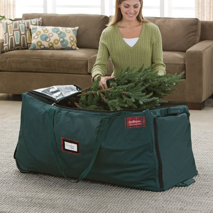 christmas tree storage bag perfect idea instead of using the original broken down - Christmas Tree Bag Storage