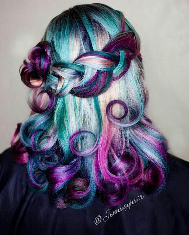 ☆P A ZA X I ☆pinterest hair