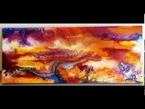 This video shows examples of fluid abstract artworks created by artist Glenn Farquhar using his GALAXY art technique. To learn to paint this art technique please check website www.artfusionproductions.com.au #Learntopaint #abstractart #artclasses