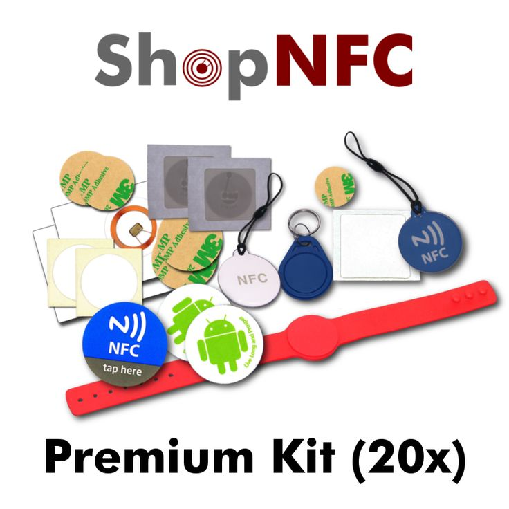 NFC Premium Kit - 20 pieces http://j.mp/NfcProKit