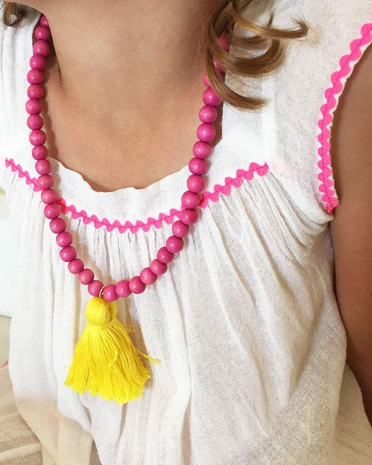 Boho Beads Tassel Necklace – Online Jewelry Boutique