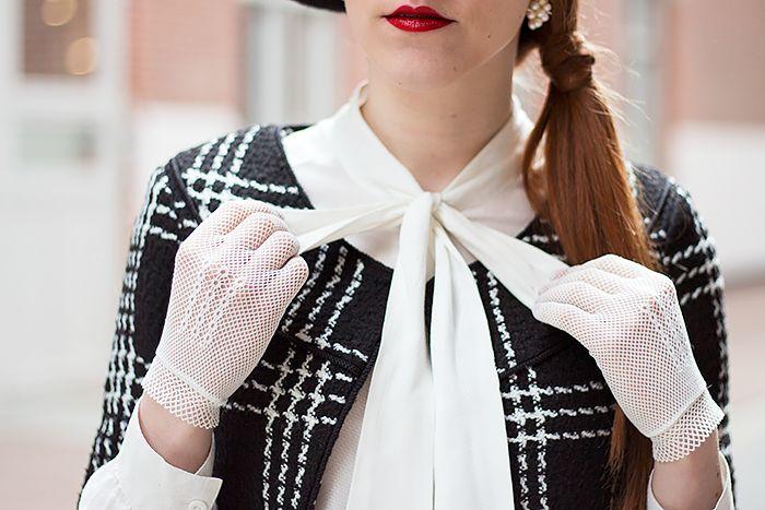 Peplum Rok Outfit - Retro Sonja | Vintage Modeblog - www.retrosonja.com