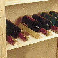 Vin mår bra av att förvaras mörkt och svalt.