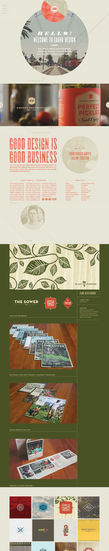 Caava Design | Website Redesign and Brand Overhaul | Behance