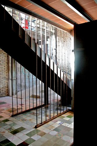 Location by Officine Farneto, via Flickr stair - bricks