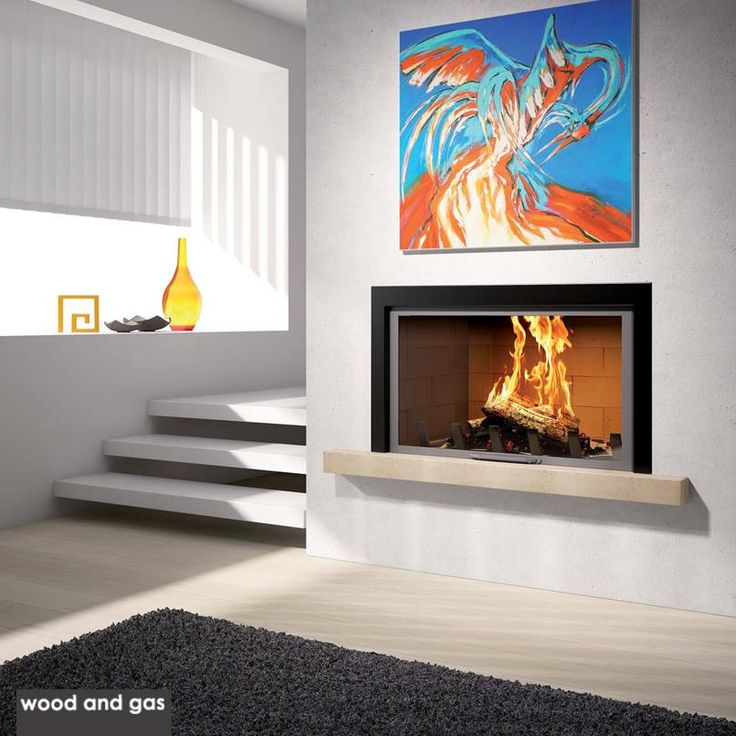 Do you want a good first impression? Add a #Fireplace to create a bewitching ambiance to your #LivingRoom.