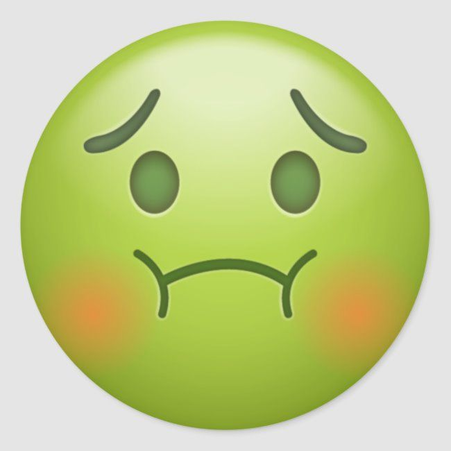 Sick Note Emoji Face Classic Round Sticker Zazzle Com Emoji Faces Emoji Wallpaper Emoji Wallpaper Iphone