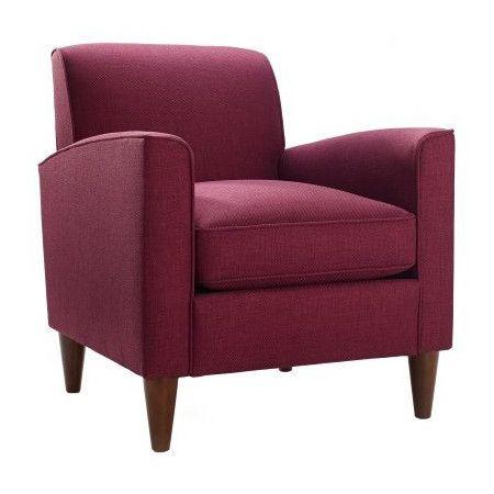 Found it at Wayfair - Felix Chair in Raspberry