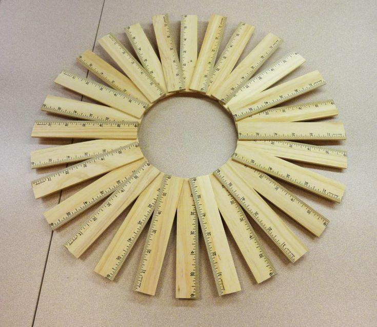 Teacher-gift-idea-ruler-wreath-crafts-unleashed-step2