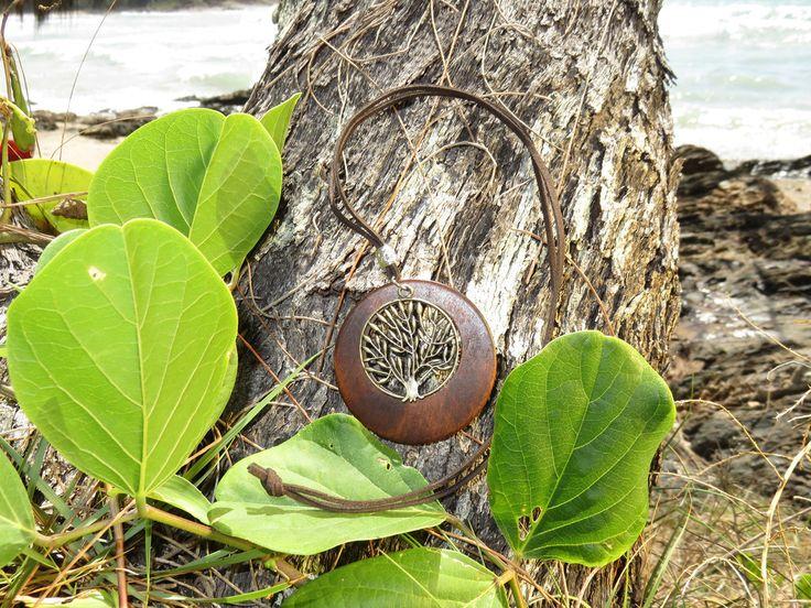 Tree of Life Wooden Pendant
