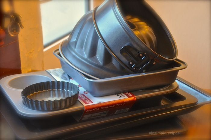 Baking essentials for simple recipes at home
