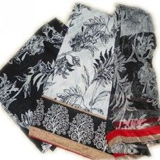 Casual Printing Suit - Black and White Beauty  from http://www.ezeetoshop.com
