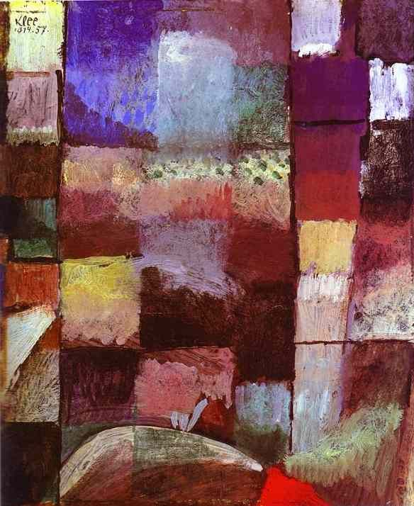 Motiv aus Hammamet Paul Klee