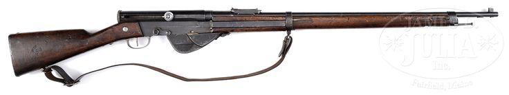 RARE 1917 FRENCH TRANSITIONAL SEMI AUTOMATIC RIFLE.