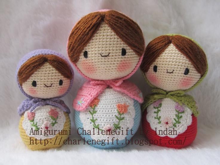 Amigurumi Nesting Dolls : Amigurumi @ Charlene Gift n Craft: Matryoshka ...