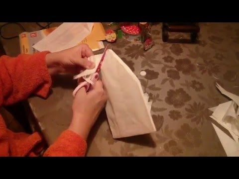 How to make a 3D Christmas Star out of breakfast bags - Paper Craft - YouTube