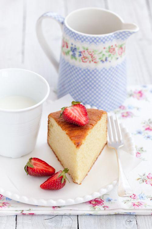 La torta al latte caldo di Tish
