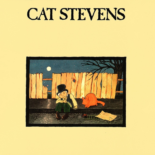 Cat Stevens - Teaser and the Firecat by LP Cover Art, via Flickr