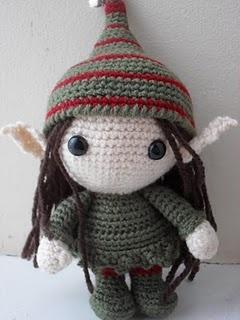 Crochet Elf - cuuuuute!