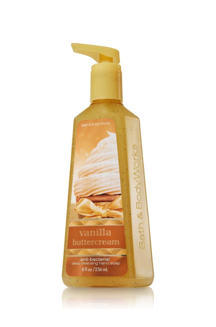 Vanilla Buttercream Deep Cleansing Hand Soap