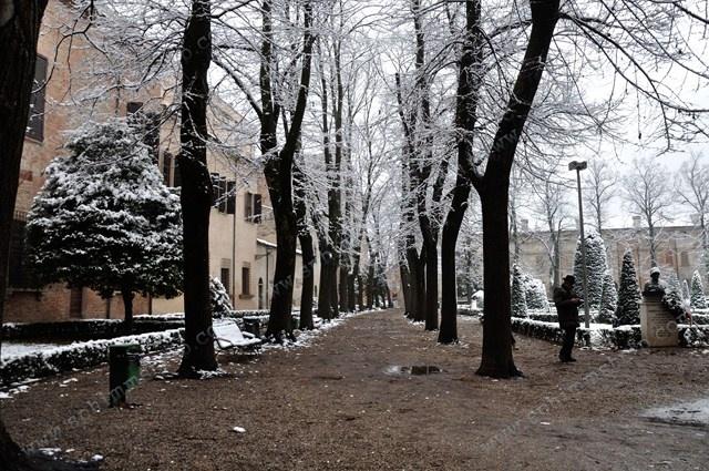 Mantova - Italia, Italy #Mantova #Mantua #cultura #culture #Italia #Italy #neve #snow