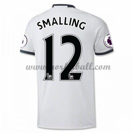 Billige Fotballdrakter Manchester United 2016-17 Smalling 12 Tredje Draktsett Kortermet