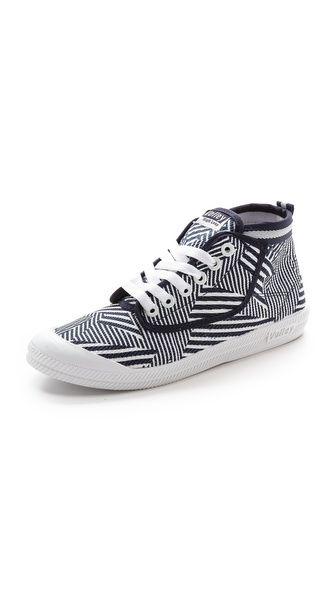 High Leap Print High Top Sneakers