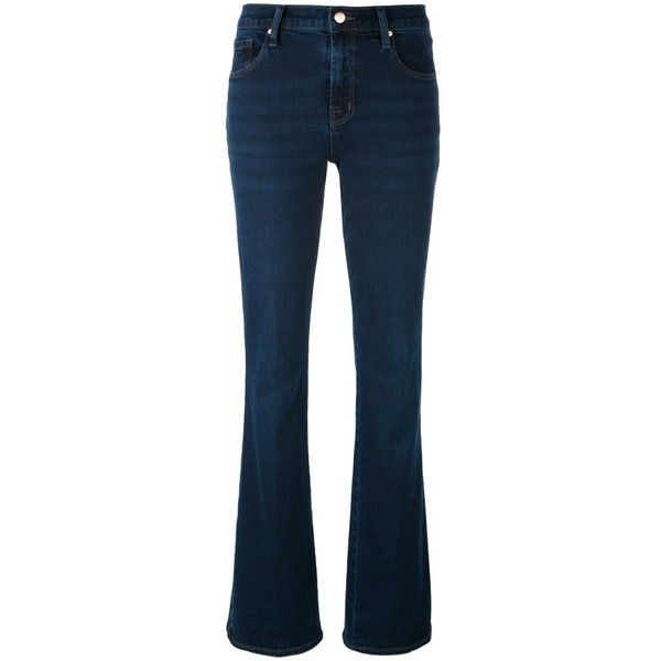 J BRAND 'Litah' Bootcut Jeans found on Polyvore featuring jeans, blue, bootcut jeans, j brand, boot cut jeans, j brand jeans and blue jeans