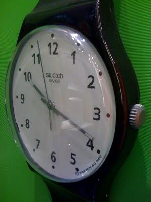 Jumbo swatch watch!