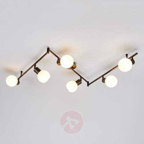 Rustfarget LED-kjøkkenlampe Elaina, 6 l-9620028-22