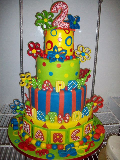 Best Nd Th Birthday Cakes Images On Pinterest Nd - 2nd birthday cake designs