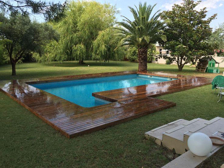17 best ideas about margelle de piscine on pinterest With beautiful comment poser des margelles de piscine 18 terrasse jardin pierre
