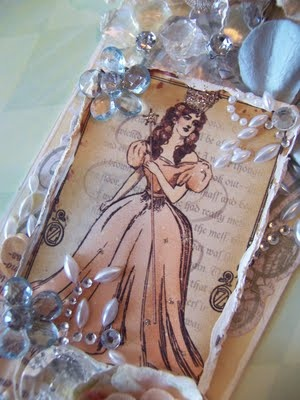 This tag is absolutely GORGEOUS! Glenda the good witch from Wizard of Oz