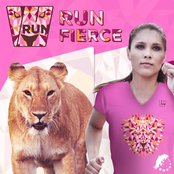 RUN FIERCE!  Mostre que você é uma corredora FEROZ na WRUN 2016! http://corridawrun.com.br/2016/  #CORRIDAWRUN