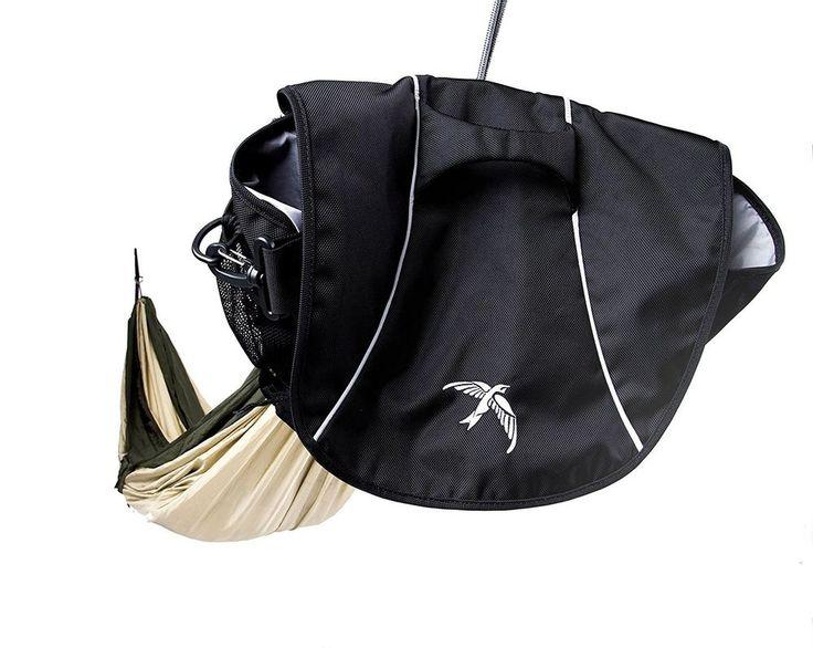 Portable Hammock Camping Messenger Bag Hiking Backpacking Outdoor Parachute Gear #PortableHammockCampingMessengerBag