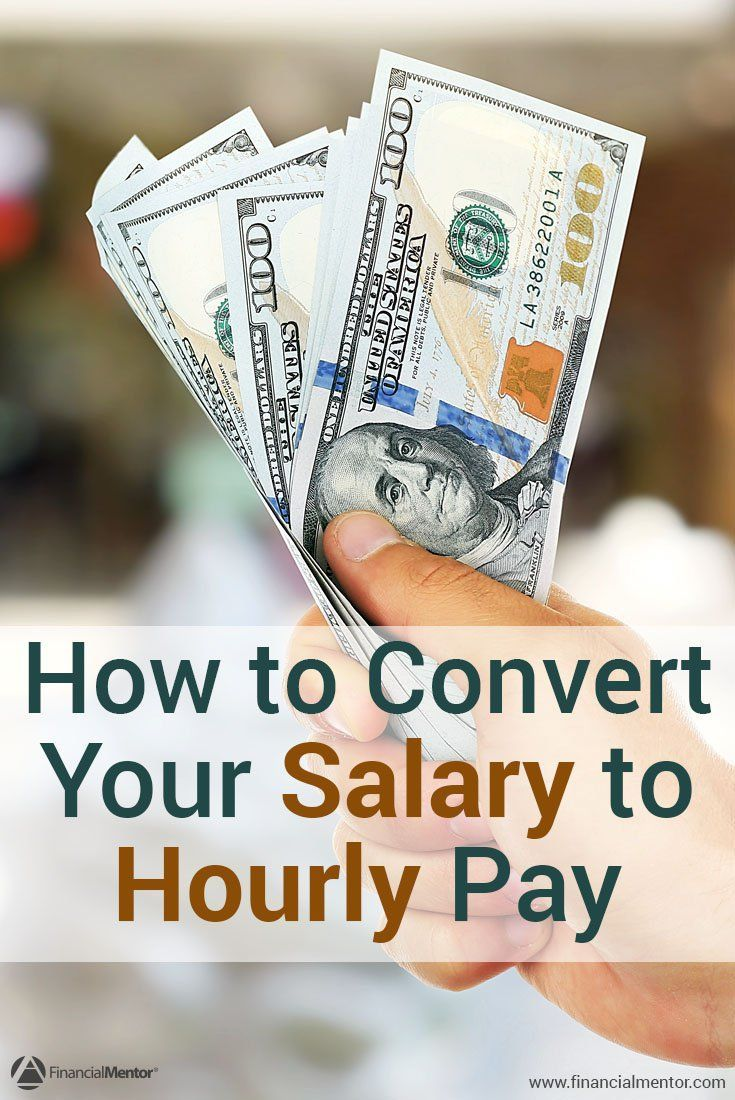 Do you get paid a salary? Or do you want to compare job offers? This calculator will help you convert your salary to an hourly wage - including your benefits - so you can see how much you really get paid and compare offers accordingly.