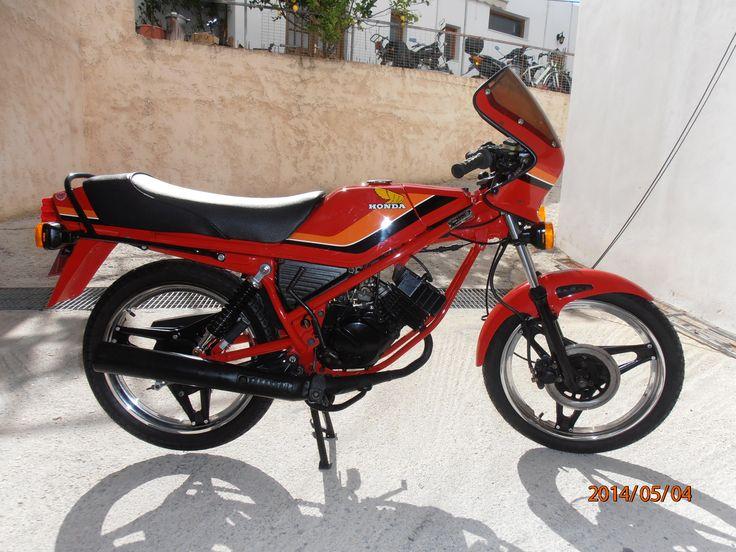 #honda #mb5 #restoration #motorcycle