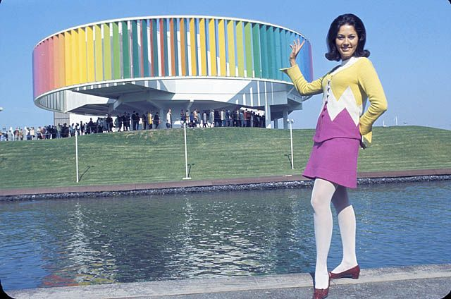 Hostess of the Kaleidoscope at Expo 67.